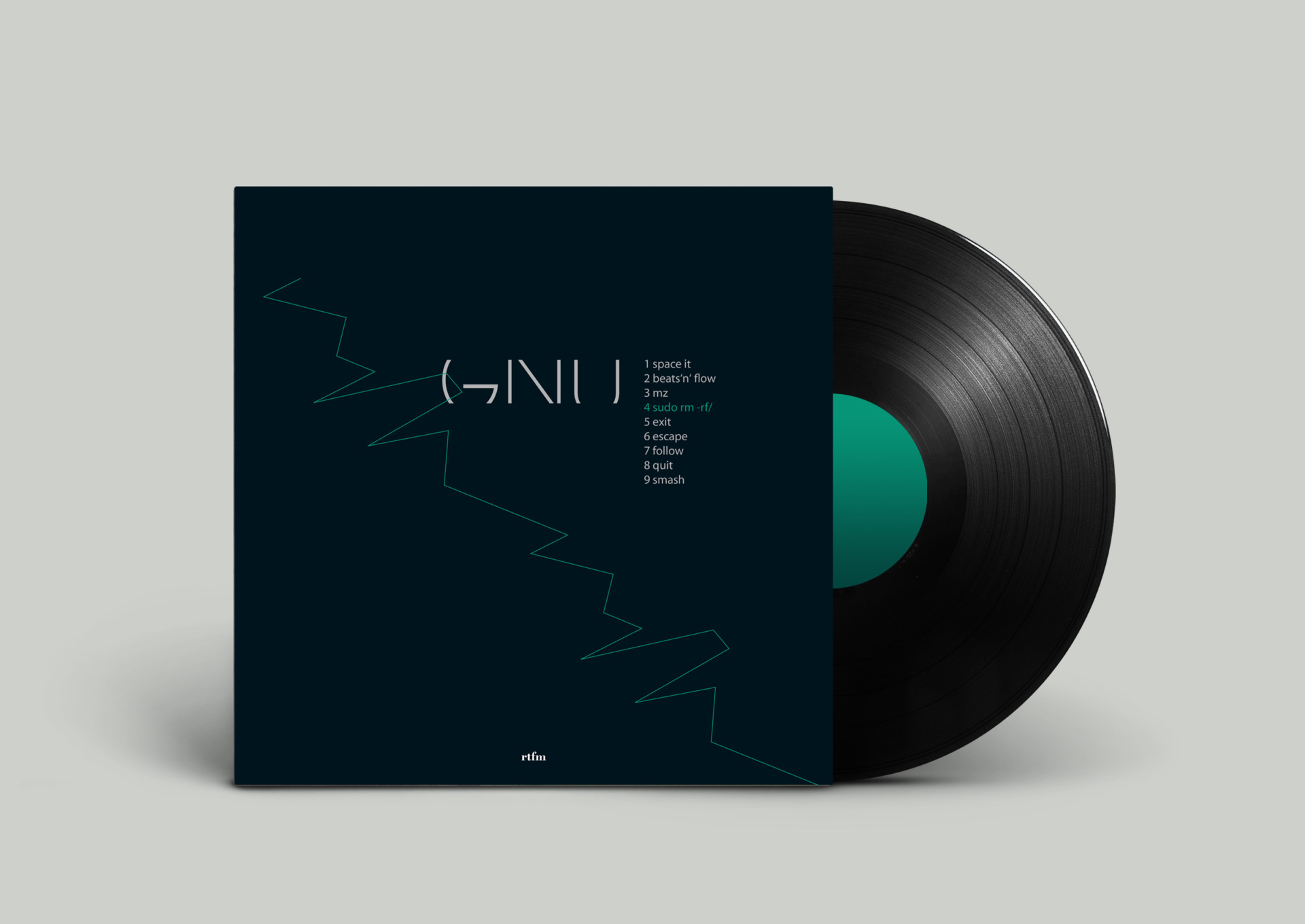 visual communication alessia pennetta record cover – generative design