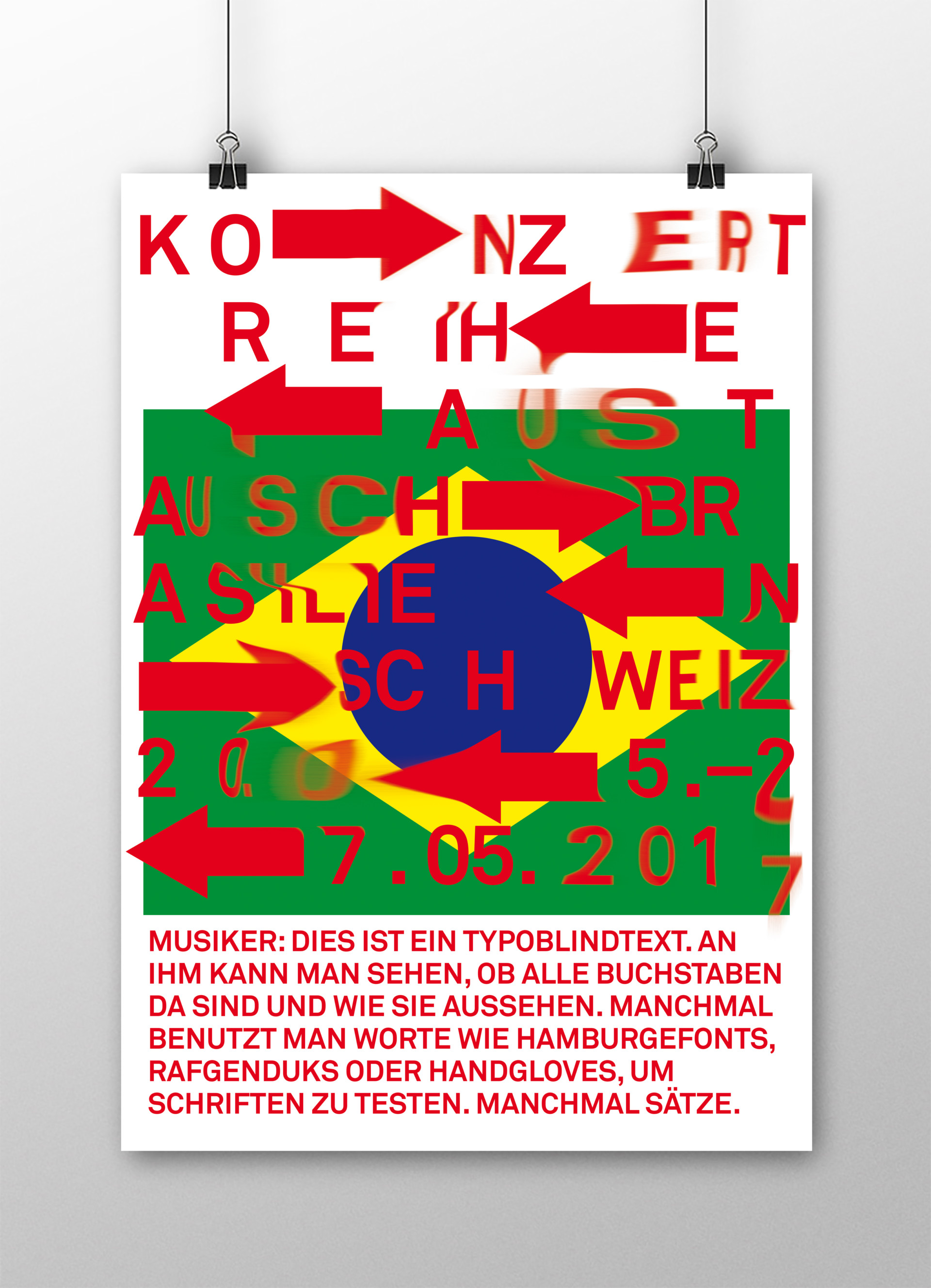 visual communication alessia pennetta konzertaustausch – poster design